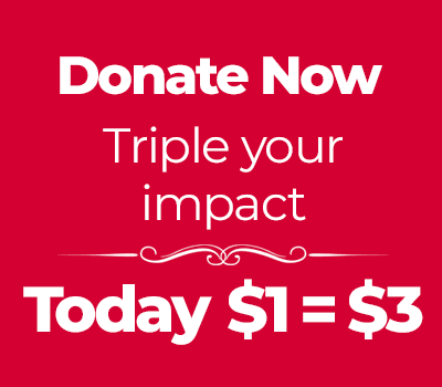 parkinson canada campaign banner Triple your impact, donate today