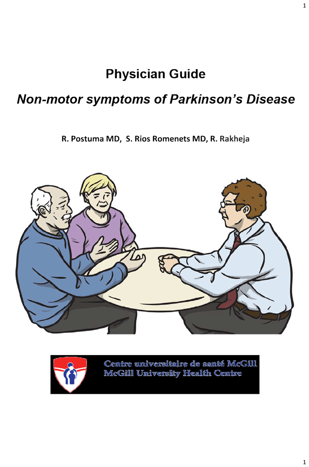 "Featured image for ""Physician Guide to Non-motor Symptoms of PD"""