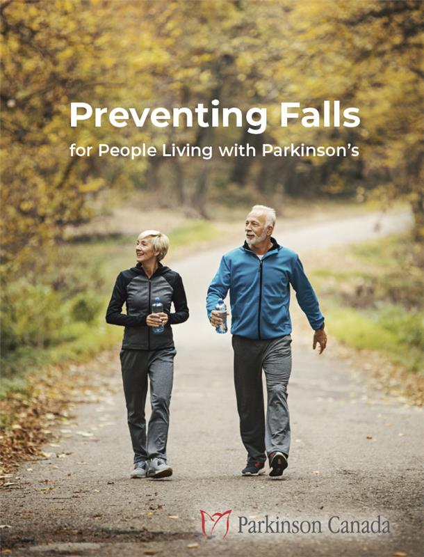Book cover for Preventing Falls for People Living with Parkinson's