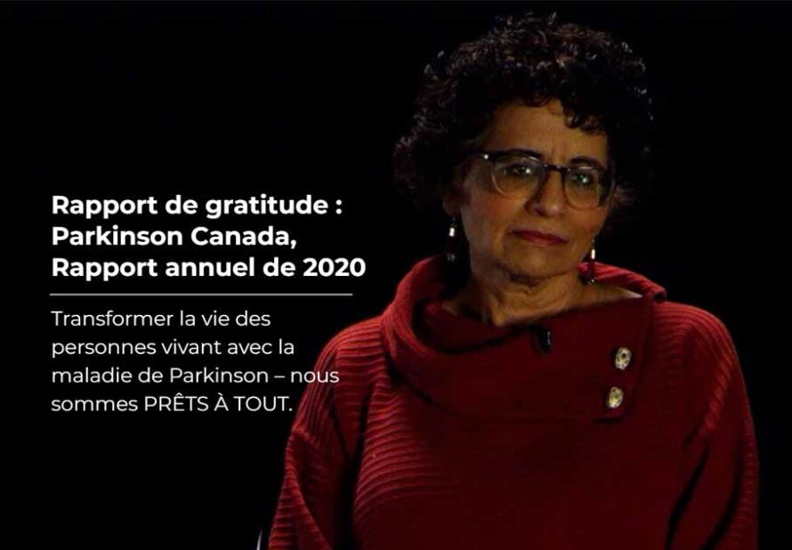 Rapport de gratitude 2020
