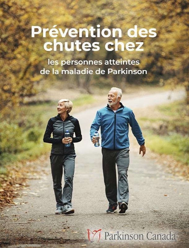 Couverture de livre pour Prévention des chutes chez les personnes atteintes de la maladie de Parkinson