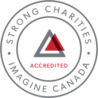 Trustmark for Imagine Canada Standards Program accreditation